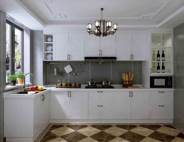 新中式厨柜定制