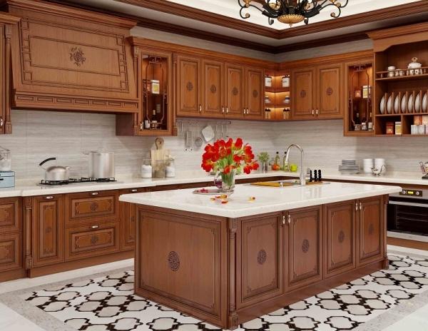 新中式厨柜门板定制